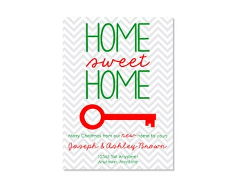 Christmas New Home Announcement
