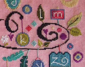 NEW Part 3 Heard it Through the Grapevine sampler cross stitch patterns by SamSarah Design Studio at thecottageneedle.com