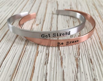 Hand Stamped Cuff, Personalized Jewelry, Custom Jewelry, Custom Cuff, Personalized Cuff, Copper Cuff, Aluminum Cuff, Hand Stamped Jewelry,