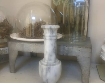 Vintage Heavy Marble Vase For Your Flowers