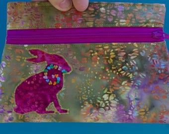 Rabbit Totem Pouch