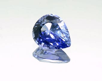 3.46ct Natural Untreated Blue Sapphire 10.36×8.72×5.25mm