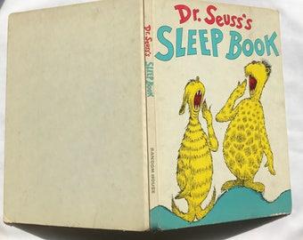 Dr. Seuss's Sleep Book 1962 1st Edition