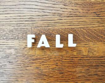 Fall - Vintage Ceramic Push Pins