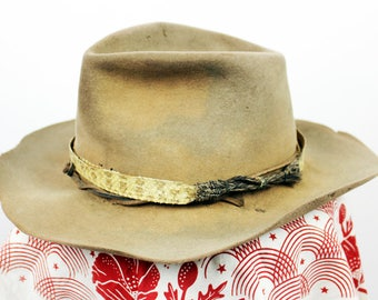 Snakeband Hat with Chin Strap size 7