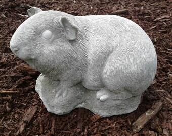 Large Guinea Pig Statue- Concrete