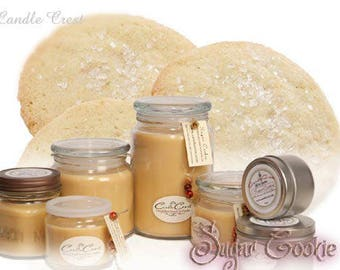 Sugar Cookie Candle - Scented Candles- Soy Candles -Eco Friendly - 100% Soy Wax