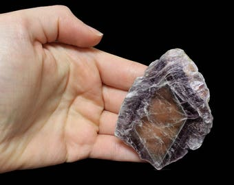Bicolor Lepidolite Mica Crystal