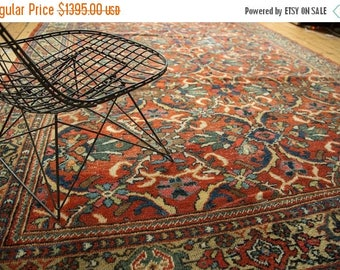 10% OFF RUGS 7x10.5 Vintage Mahal Carpet