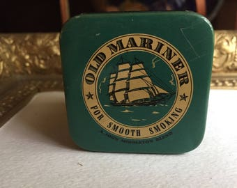 Old Mariner Smoking Tobacco Tin