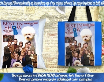 Tote Bag Pillow Movie