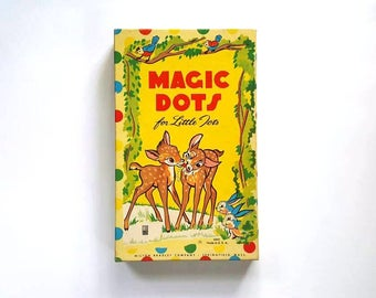 Magic Dots For Little Tots by Milton Bradley, Vintage Learning Games for Kids