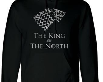 The King Of The North Adults Hoody
