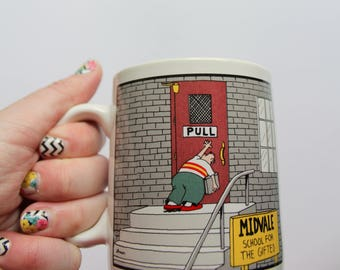 Vintage The Far Side Ceramic Coffee Mug 1986