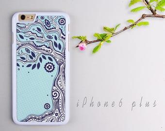 Old Tree iPhone 6 plus case, White iPhone 6s plus Plastic case, iPhone 6s PC cover - HTPC6P11