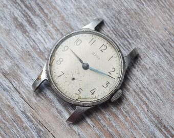 ZIM Vintage Soviet Russian wrist watch for parts.Didn't work.