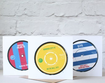 Football Anthems Card