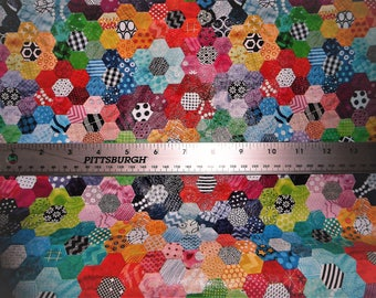 """RESTOCKED Leather 12""""x20"""" or 10""""x24"""" or ? Abstract KALEIDOSCOPE Flowers (2"""") (Now on Cowhide) 2.5-2.75 oz / 1-1.1 mm PeggySueAlso™ E1095-03A"""
