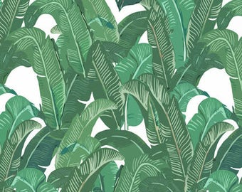 Tropical Banana Leaf Disposable Placemats - set of 12