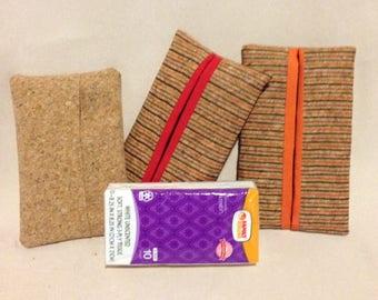 CORK Tissue / Kleenex Pouch