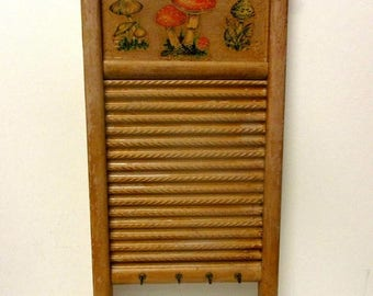Summer Sale Repurposed Wooden Washboard