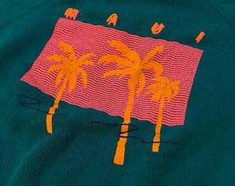 Vintage MAUI 80s sweatshirt