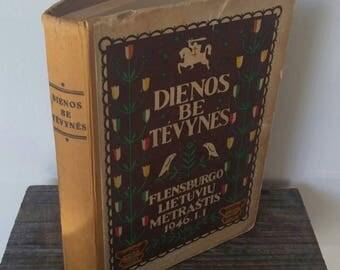 Vintage Lithuanian Book