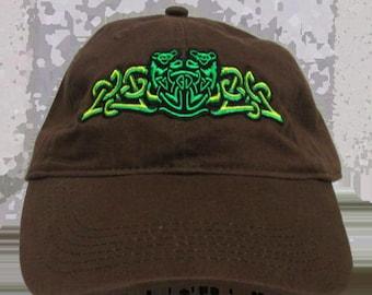 Slipknot Embroidered Baseball Cap-Brown