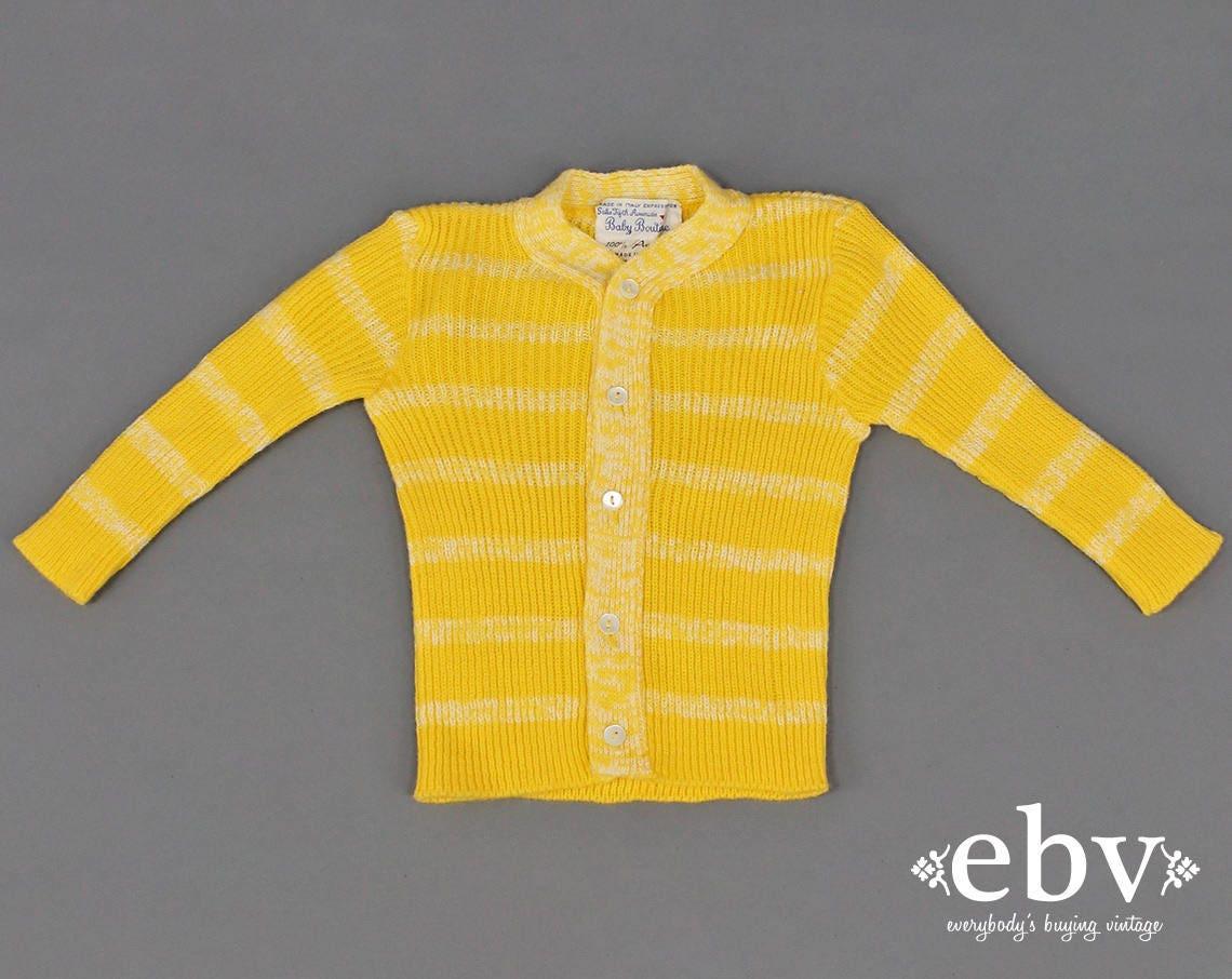 Kid's Vintage Infant Vintage Toddler Vintage Yellow