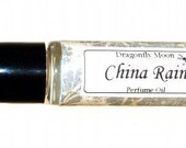CHINA RAIN - Roll on Premium Perfume Oil - 2 sizes to choose from - 1/3 oz or 1/6 oz - A truly refreshing, clean aroma