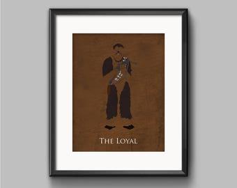 Star Wars Return of the Jedi - The Loyal - Chewbacca Art Print - poster, rebel, wookiee, endor, chewie