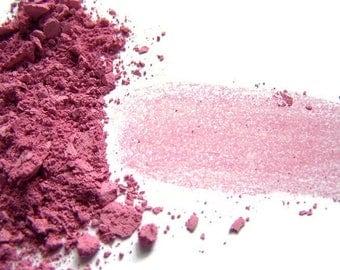 Rose Pink Mineral Blush Powder - Soft Matte Finish Blush - Rose Vegan Blush - Pink -  Vegan Makeup