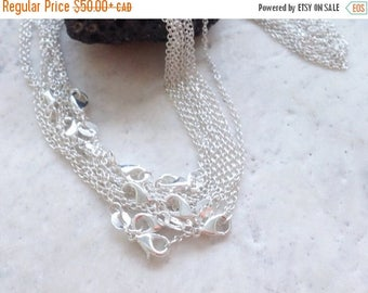 "SALE Bulk 16"" .925 Sterling Silver Finished Chain"