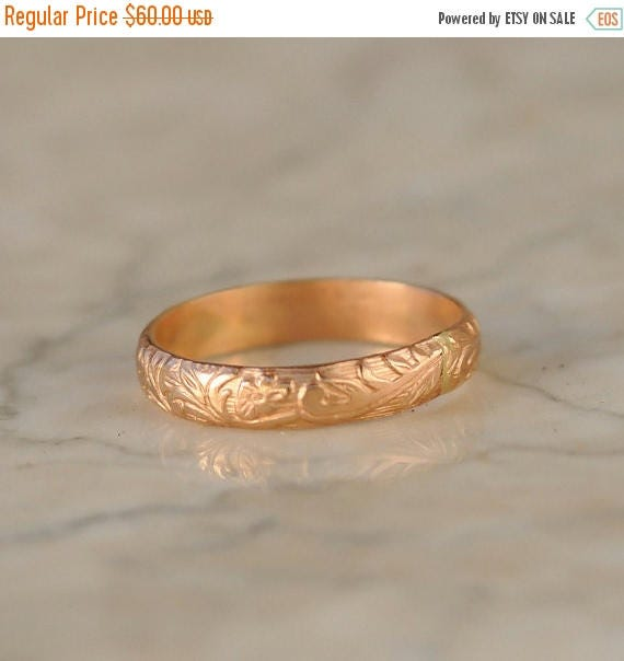 ON SALE Stacking Ring - Gold Stack Ring - Stackable Ring