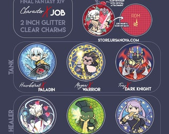 FFXIV Character x Job Charms [PREORDER]