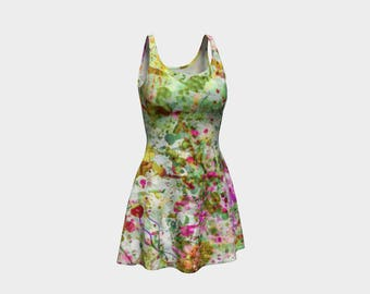 Chic Floral Flared Dress that will make you the hit of any Gala! -  22