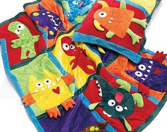 "Monster Quilt McCall""s 6411 Sewing Pattern"
