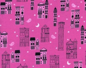 PRESALE - Eclipse - Haunted City in Pink - Cotton + Steel Collab - 5193-002 - Half Yard