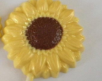 24 Chocolate Sunflower lollipops