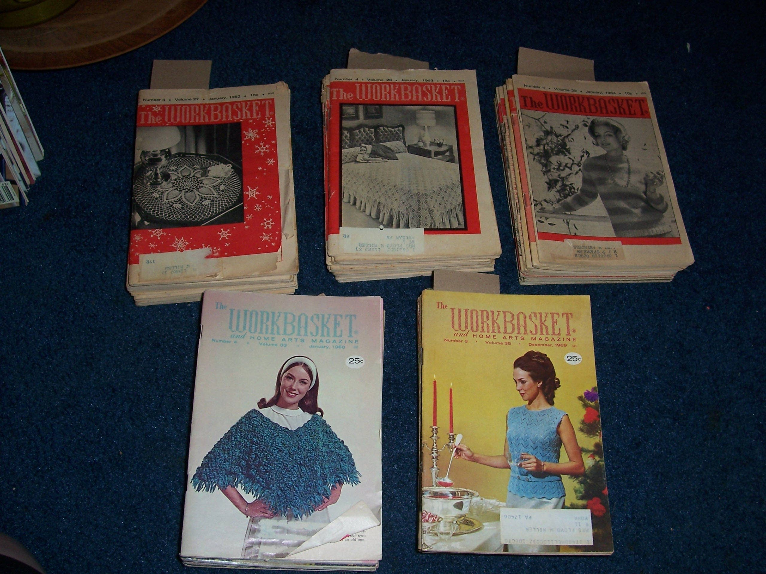 Vintage 1962636468 or 1969 workbasket magazinesplete year 800 bankloansurffo Choice Image