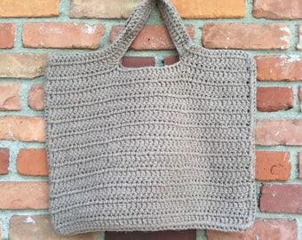 Crochet oversized everyday bag