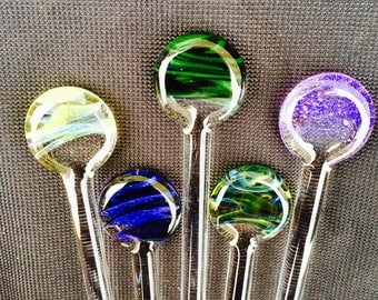 Swizzle Sticks Made to Order Pick Your Color Way and Quantity