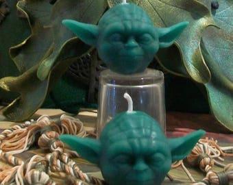 Beeswax Yoda Master Jedi Inspired Candle Set Of 2