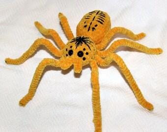 Crochet Amigurumi Mombasa Golden Starburst Tarantula