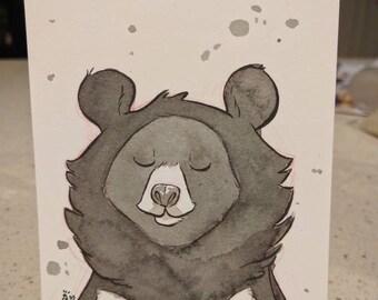 InktoBEAR: Moon Bear