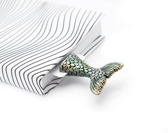 Mermaid bookmark. Ocean mermaid perfect gift for girlfriend, her, mom, women, teen girl, teacher, coworker, student, granny, child, sister