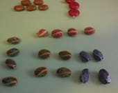 Group of 24 Beads - 3 Dif...