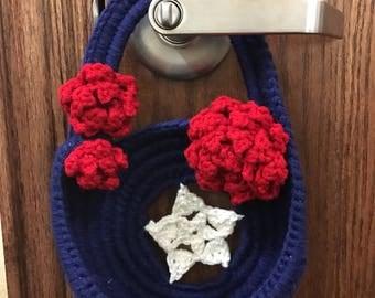 Patriotic Hanging Basket Pattern