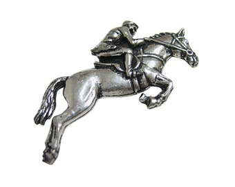 Horse Racing Jockey Magnet