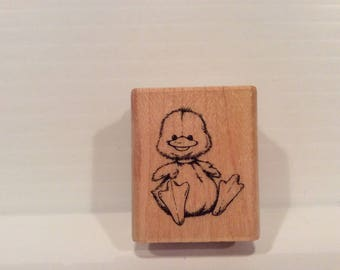 Baby Duck Rubber Stamp